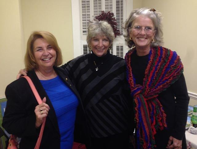 Sharon Fisher, Jane Lafferty, Pat Galloway