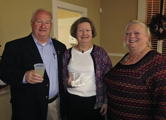Charles and Margaret Laurens, Angie Aimar