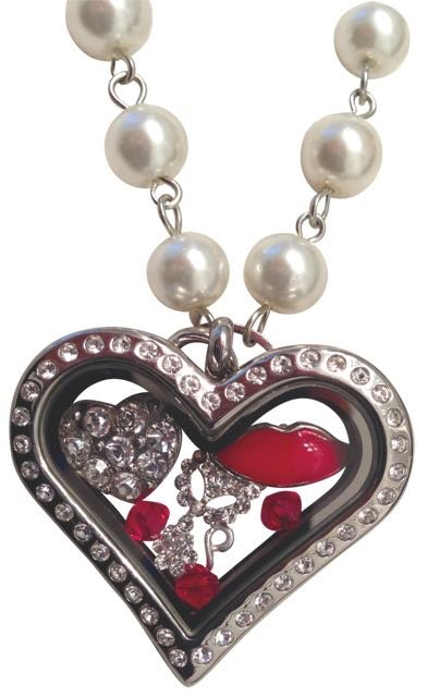 """SAY """"I LOVE YOU"""" WITH A LOCKET."""