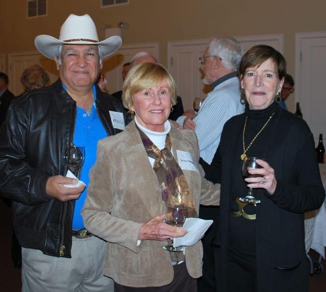 Arnold Montez, Vicki Reams, Brenda Davis