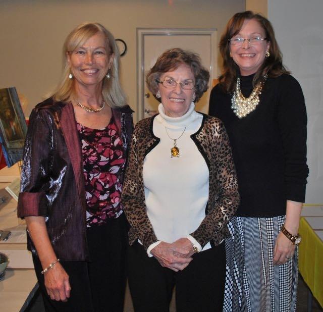 Deborah Wright, Joyce Ledingham, Aline Jordan