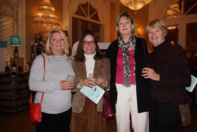 Gay Varnedoe, Carol Lee, Susan Irwin, Diana Gilbert