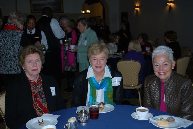 June Sortwell, Jane Brocking, Patricia Holman