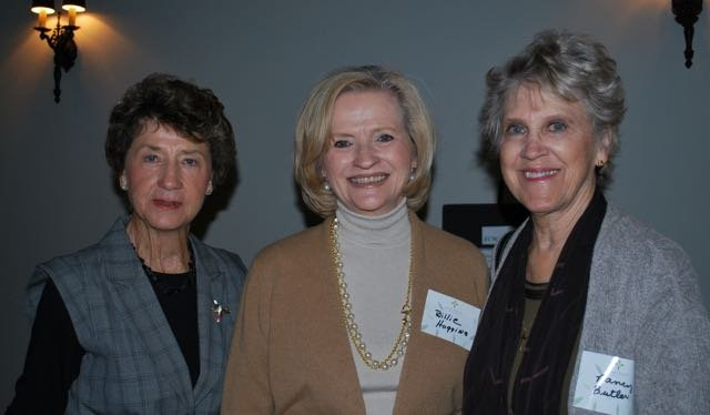Jeannie Wade, Billie Huggins, Nancy Butler