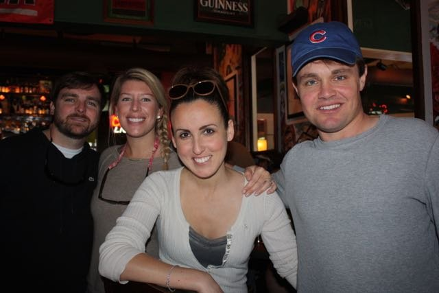 Brian and Meg Corry, Emily Hancock, Jason Hodges