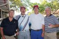 The winning team: Mark Johnson, Cody Yonce, Spencer Bartlett, Craig Entwistle