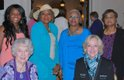 Standing: Sabrina Nixon, Margie Harris, Beverly Lewis, Alice K. Carter; seated: Evelyn Dill, Emily Johnson