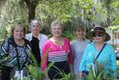 Hamilton Plantation Garden Club members: Judith Summer,  Dee James, Sandy Bonilla, Marion Kennedy, Kay Hanson