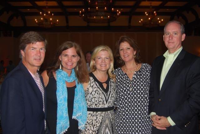 Jim and Susie Benefield, Helen Billings, Judy and Stephen Scarlett