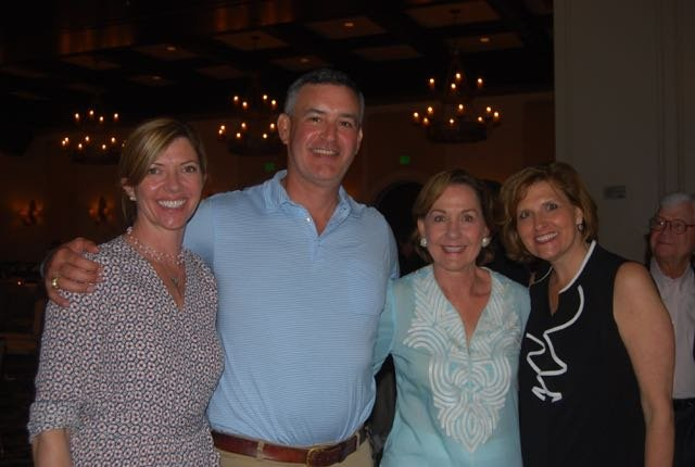 Deanna and John Carrillo, Mary Bishop, Bess Thompson