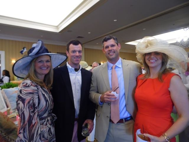 Brittany and Kevin Crotty, Bob and Melissa Kent