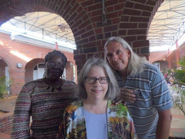 Wendy Brown, Donna Bassett, Rusty Blythe