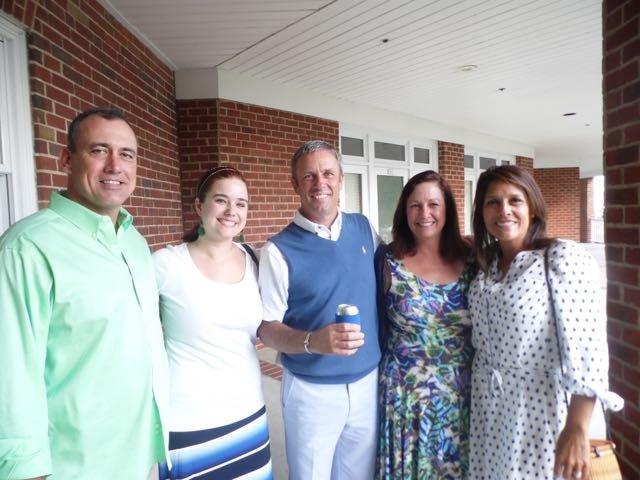 Chuck and Caroline Moore, Bob Lyon, Jessica Culp, Carmen Lyon