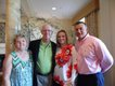 Charmaine and Rick Mattox, Amanda and Robert Long