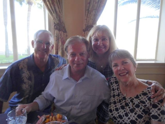 Jim Walker, Bruce Goldin, Ginny Walker, Wendy Goldin