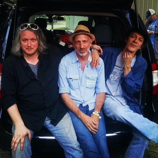 Bloodkin's Daniel Hutchens & Eric Carter with James