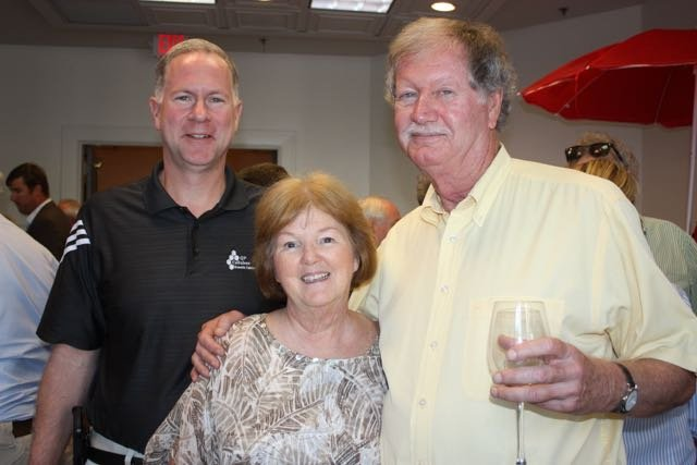 Andy Norris, Linda and Phil Allen