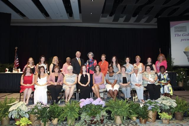 2015 YMCA Tribute Class of Honorees, event chairs and guest speaker