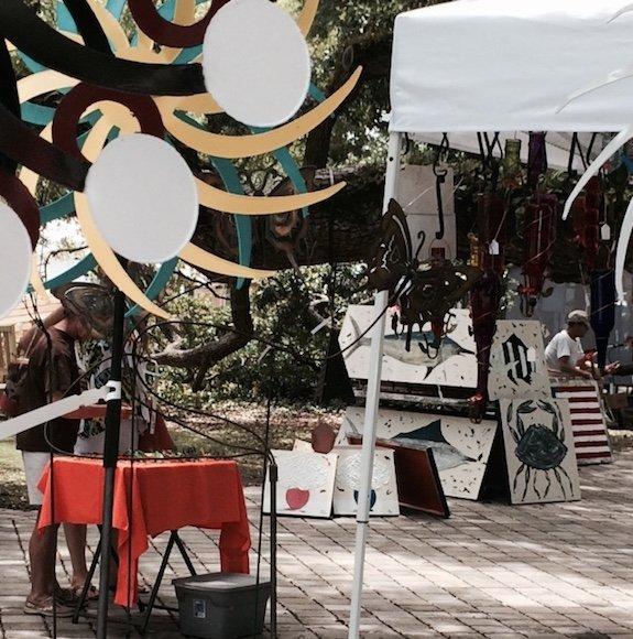 ArtDowntown Postell Park Show.JPG