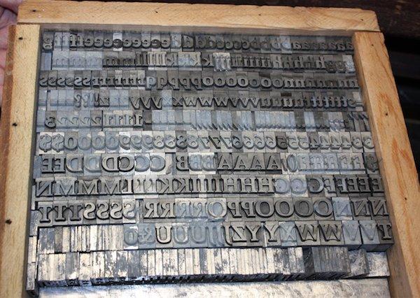 Box of type