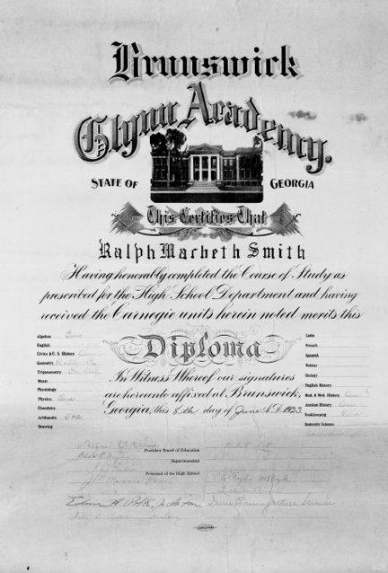 GA Diploma
