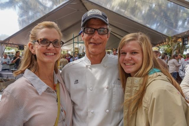 Mary, Chef John, and Sadie Belechak