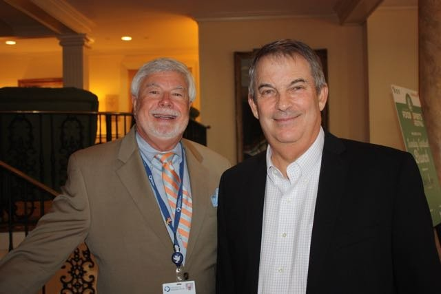 Hospice of the Golden Isles Chaplain Dr. Mike Cordle, Larry Kimel