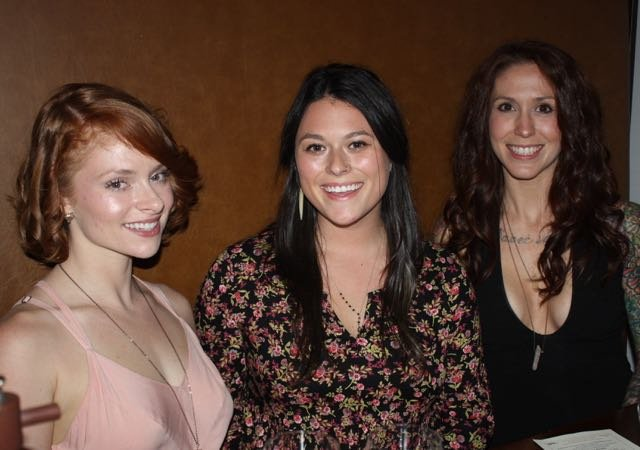 Kirsten Hawkins, Meg Conway, Lindsey Solomon
