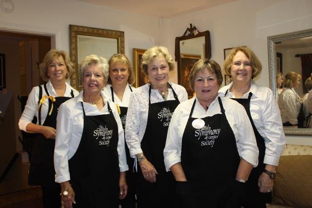 Becky Yelverton, Linda Johnston, Lisa Martin, Margie Stockton, Carla Melvin, Linda Scott