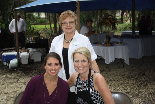 Ally Urquhart, Meg Barton, Beverly Trainor