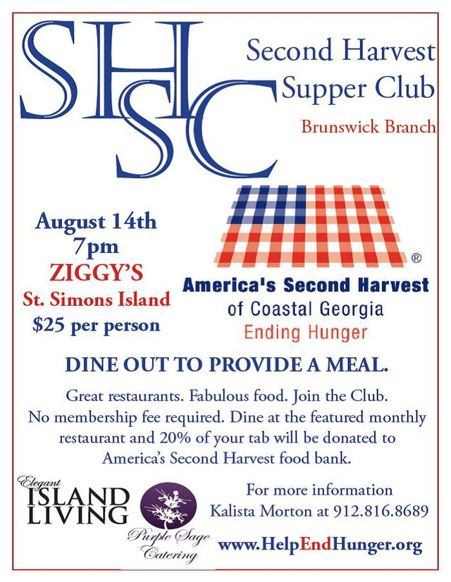 Second Harvest Supper Club