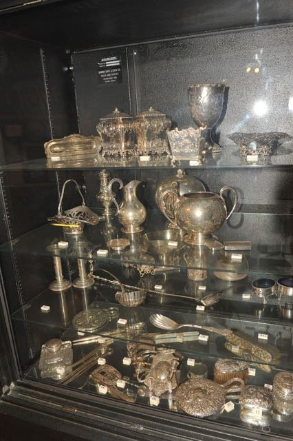 Hofwyl-Broadfield Plantation silver collection