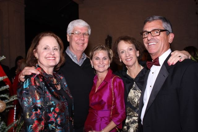 Gayle and Al Brown, Tina Owen, Debbie and Bill Strother