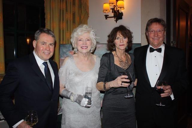 Fred and Alice Barlow, Barbara Hernandez, Don Fielder