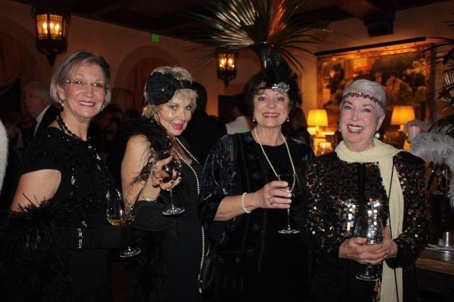 Carol Heffernan, Tallie Brillembourg, JoAnn Frick, Jeanne Earle McConnell