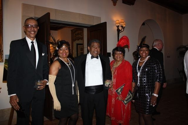 Orion and Shirley Douglass, Dr. Charles and Juanita Elmore, Jeannie Pollard