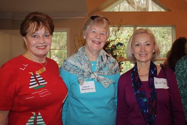 Brenda Hartwell, Chris Franklin, Janice Davis