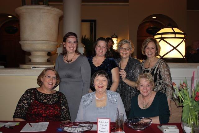 From left, standing, Katie Bolinger, Barb Jokinen, Laura Kipp, Cathy Erickson; seated, Beth Brockwell, Virginia Lensch, Jane Bozza