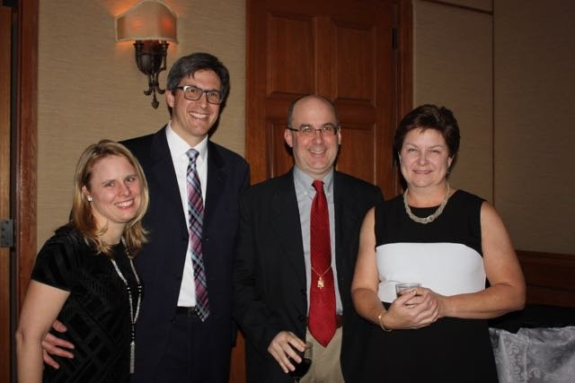 Laura and John Limburg, Scott and Virginia Clay