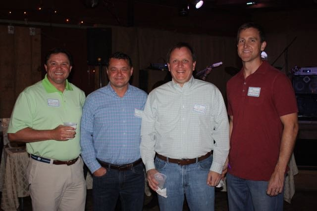 Dale McNabb, Jeffrey Johns, Creg Miller, Jim Jacobs