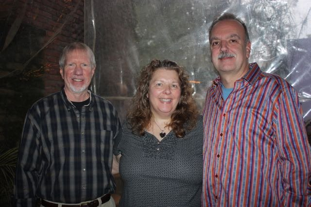Ed Mason, Kathy and Steve Yeomans