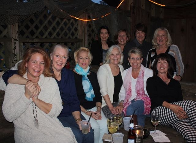 From left, front row: Wendy Anderson, Laura Beaudry, Marylin Steiner, Laura Young, Jeannie Ferguson, Gloria Difilippo; back row: Margo Walker, Nancy Harper, Marsha Olender, Marcia Masisak