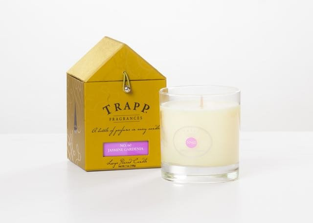 Create a signature scent for your guest room with luxurious scented candles like these by Trapp Fragrances, available exclusively at B&B Design and Consign.