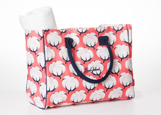 This printed cotton tote from The Market on Sea Island is as practical as it is pretty – it folds for storage so you can keep several around for guests' use throughout the season.