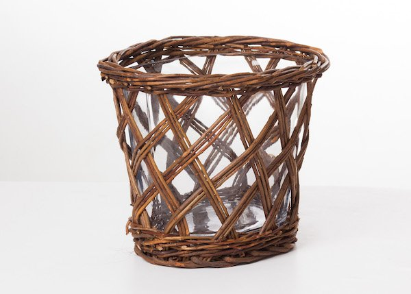 "The ""G"" in Guest Room should stand for ""gorgeous"" - nothing unfabulous allowed! Even your wastepaper basket should be stunning. This woven willow number from Dutchmans sets just the right tone!"
