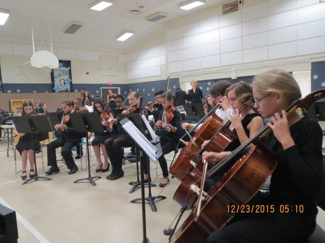 Golden Isles Youth Orchestra practice