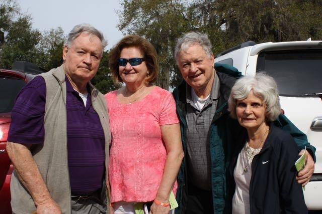 Jack and Kathy Nebel, Bill and Rosie Nebel