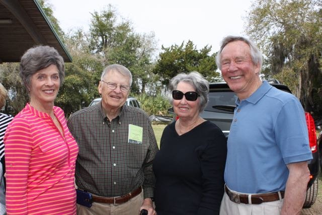 Catherine Capps, Bill and Ladye Heisel, Jerry Capps