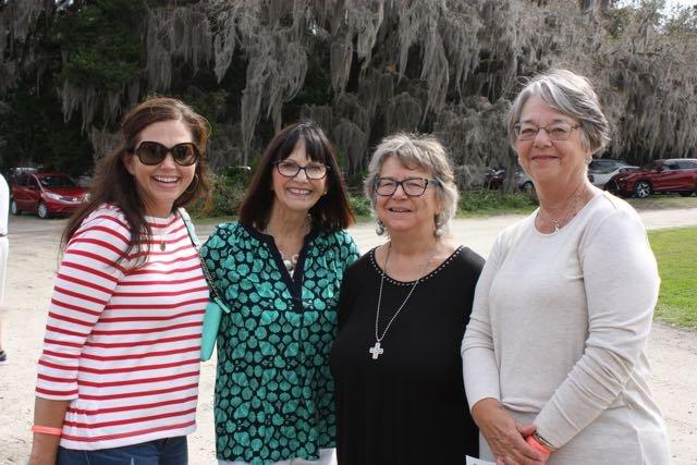Stephanie Jones, Nancy Ford, Therisa Ingley, Connie Abel