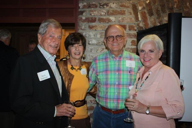 Mack and Leslie Mattingly, Ben and Carol Slade